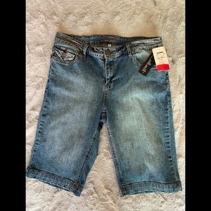 Willi Smith Jean Shorts